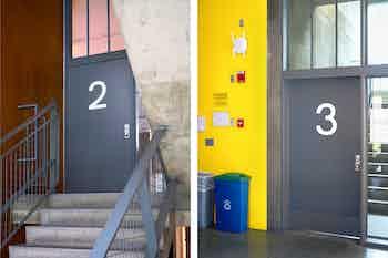 1-2-3-4-5, Carpenter Center for the Visual Arts, Harvard University, 2019