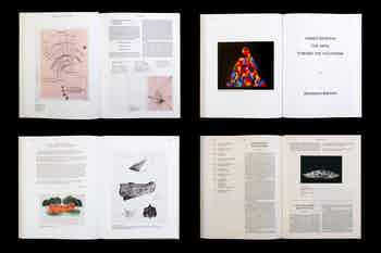 *Agnes Denes: Absolutes and Intermediates*, hardcover with slipcase, 384 pages, 9.5 × 12.2 in., edited by Emma Enderby, published by The Shed, 2019