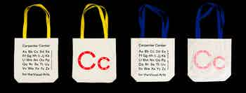 Tote Bags, Carpenter Center for the Visual Arts, Harvard University, 2018–19