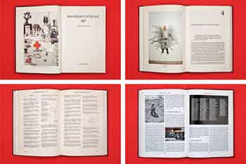 *Maurizio Cattelan: All*, hardcover, 255 pages, 7 × 9.8 in., edited by Nancy Spector, published by Guggenheim Museum, New York, 2011